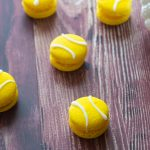 Macarons Balle de Tennis à l'Ananas