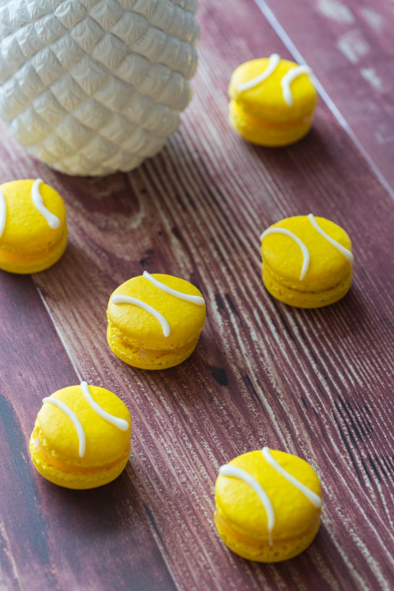 Macarons balle de tennis