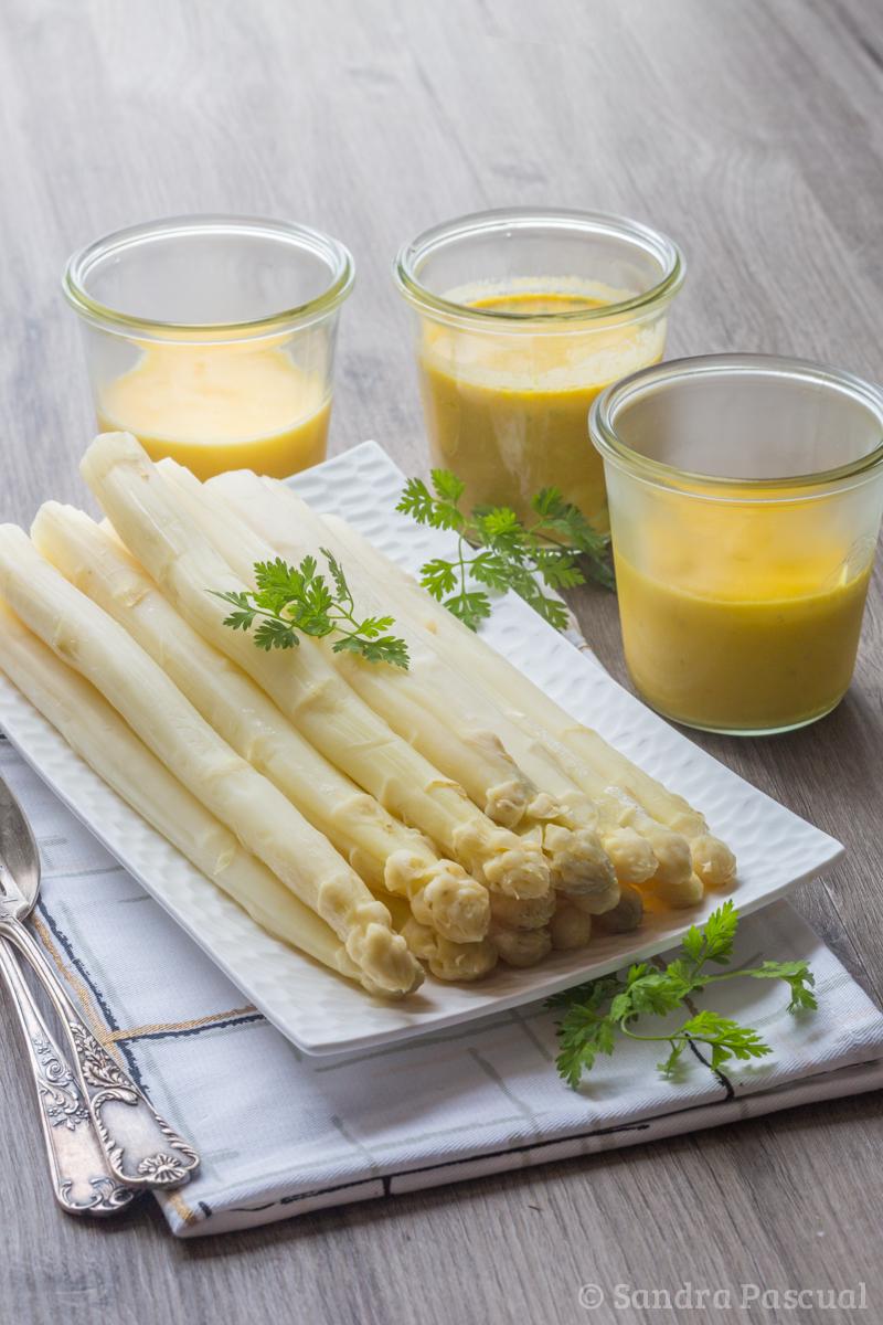 3 sauces pour accompagner les asperges recettes de - Cuisiner des asperges blanches ...
