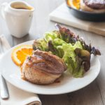Tournedos de Canard, Sauce à l'Amer alsacien et à l'Orange