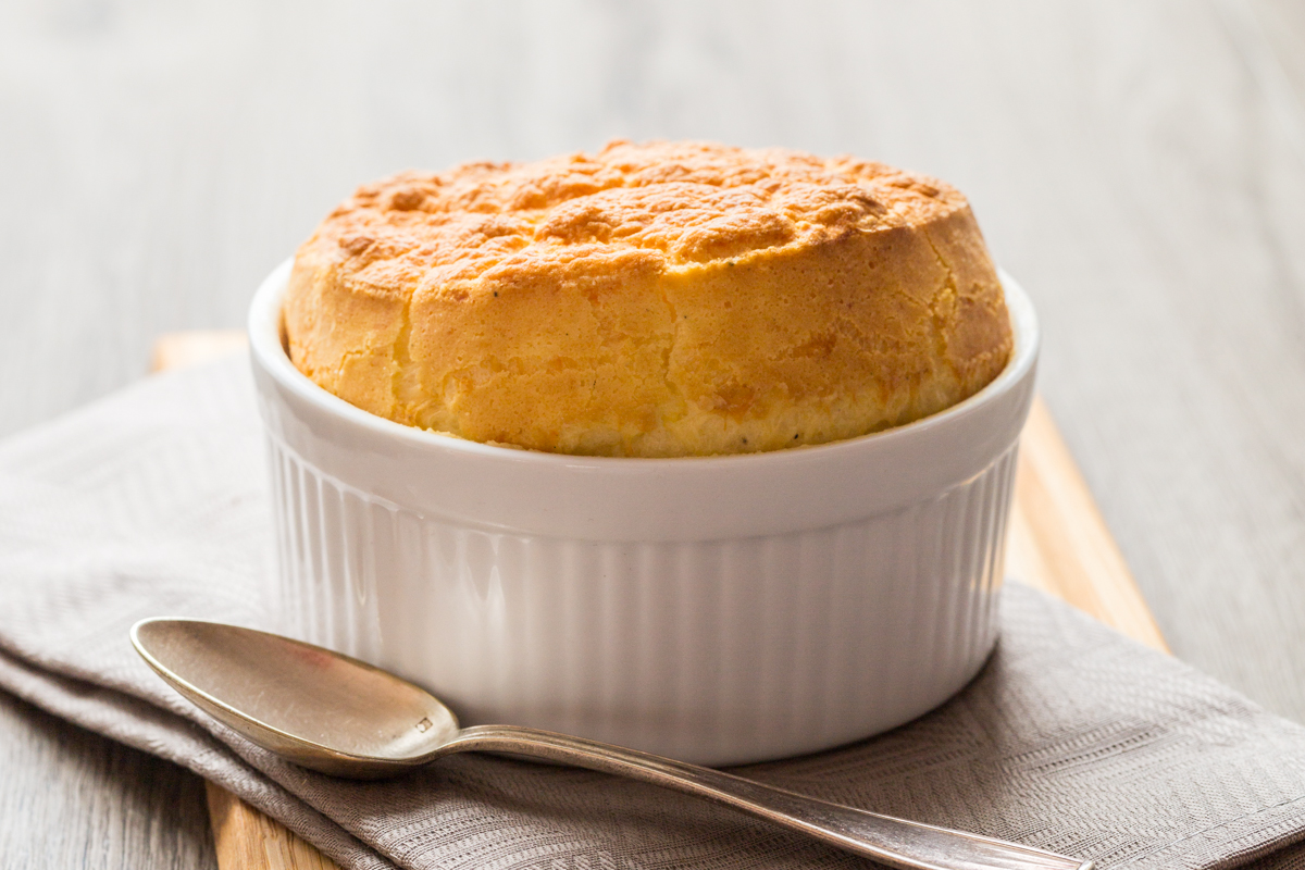 Munster cheese souffle