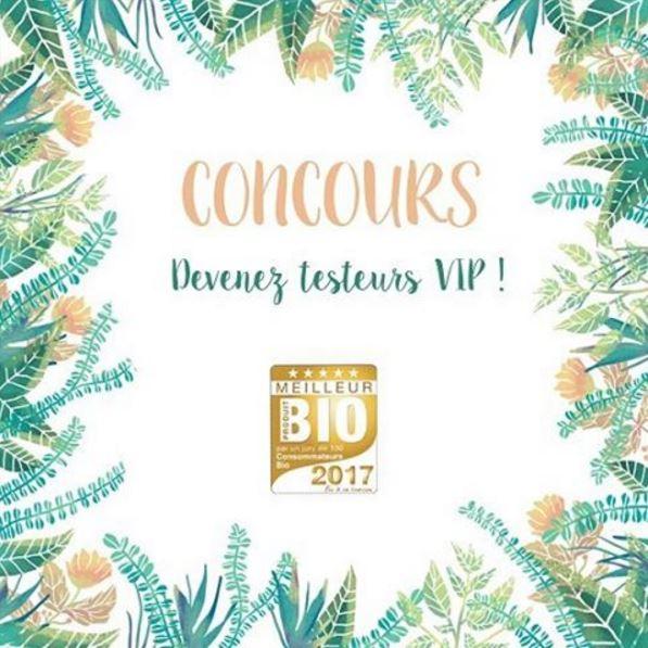 </br>{Concours} Faites partie du Jury pour élire les Meilleurs Produits Bio 2017!
