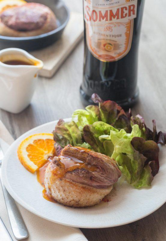 Tournedos de canard, sauce à l'Amer alsacien