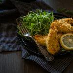 Poulet croustillant au Parmesan & Citron