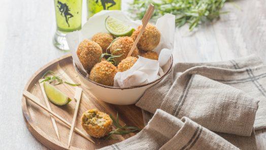 Croquettes de Pois chiche et Sardines
