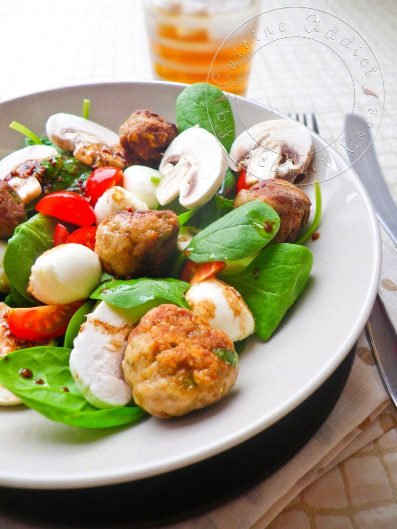 Salade polpettes 2