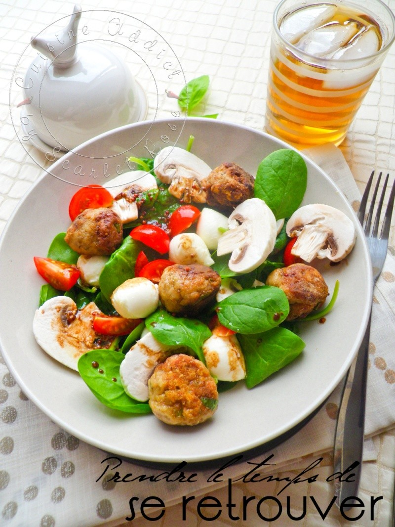 Salade polpettes