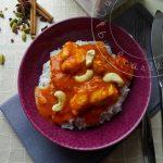 Curry de Poulet Sri Lankais aux Noix de cajou