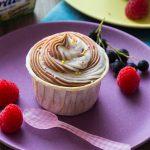 Cupcakes marbrés Vanille & Chocolat {Carré frais x Banania}