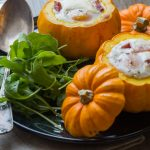 Œuf cocotte en Courge jack be Little