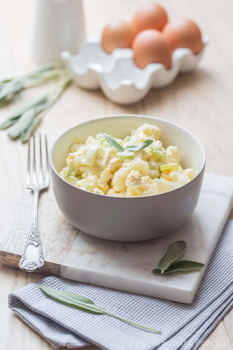 salade gourmande au chou fleur cuisine addict. Black Bedroom Furniture Sets. Home Design Ideas
