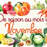 Idées-recettes avec les Fruits & Légumes de Novembre