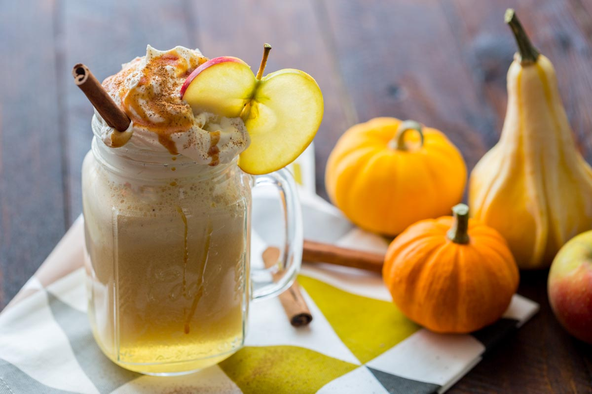 Harry Potter's Butterbeer {Apple Cider floats}