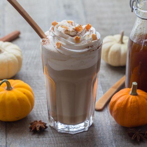 Pumpkin spice latte comme au Starbucks