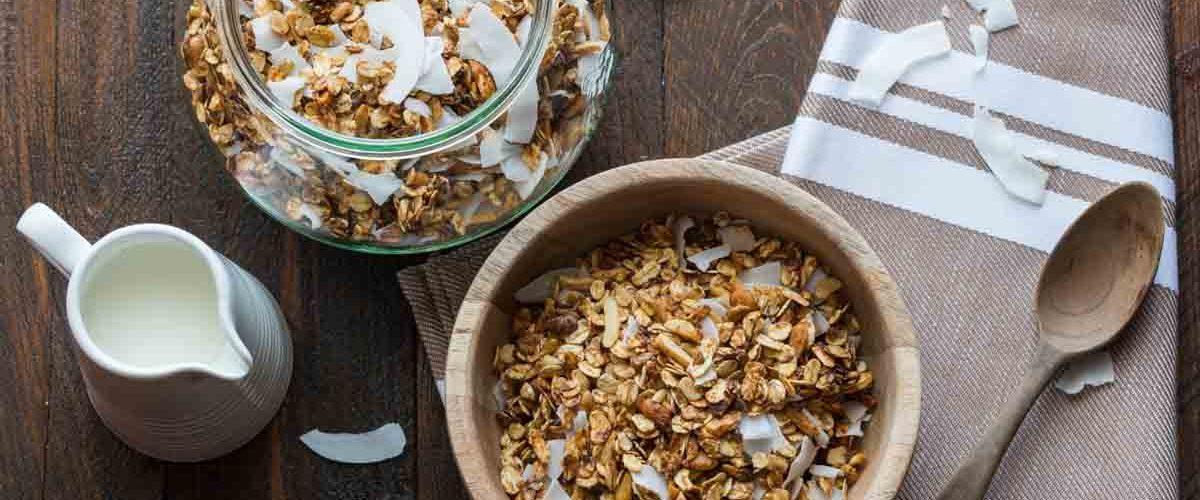 Granola à la noix de coco