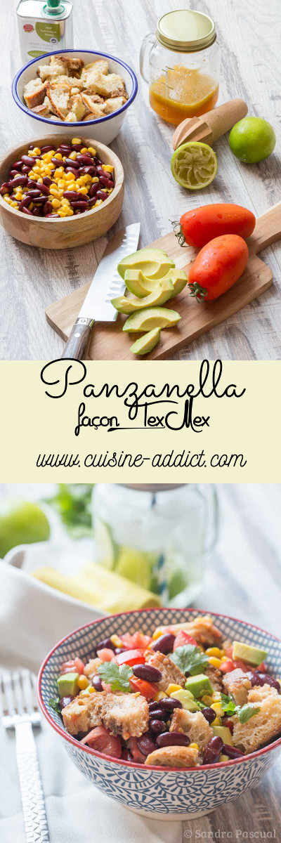 Panzanella façon Tex-Mex