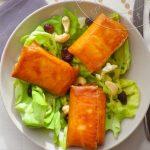 Ma Salade de Bri-Brick {Croustillants de Brie en Feuille de brick}