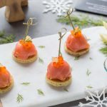 Apéritif festif: Dômes de Saumon fumé Labeyrie au Fromage frais et Fenouil