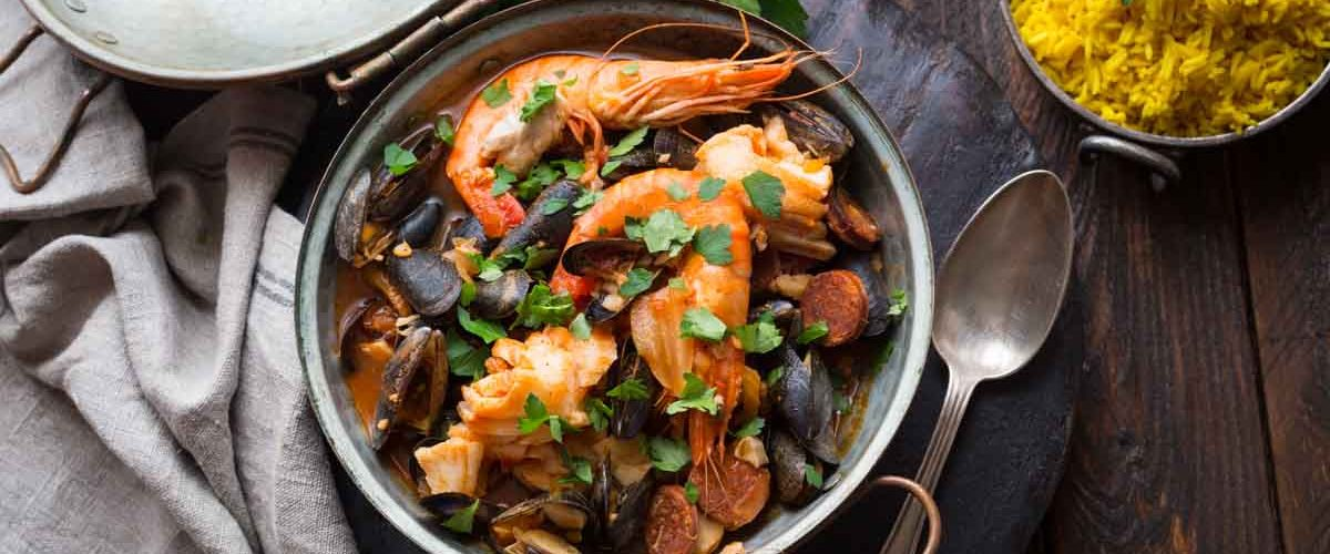 Marmite de la mer au poisson et fruits de mer