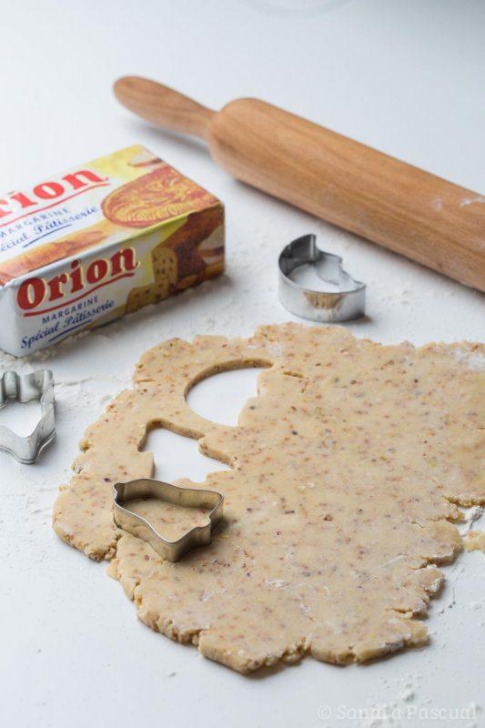 Sablés au noix à la margarine Orion