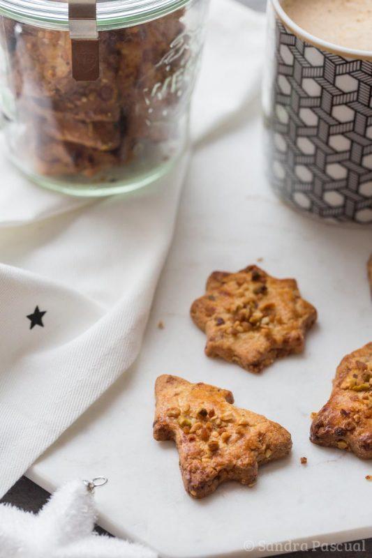 Sablés aux noisettes, amandes et pistaches