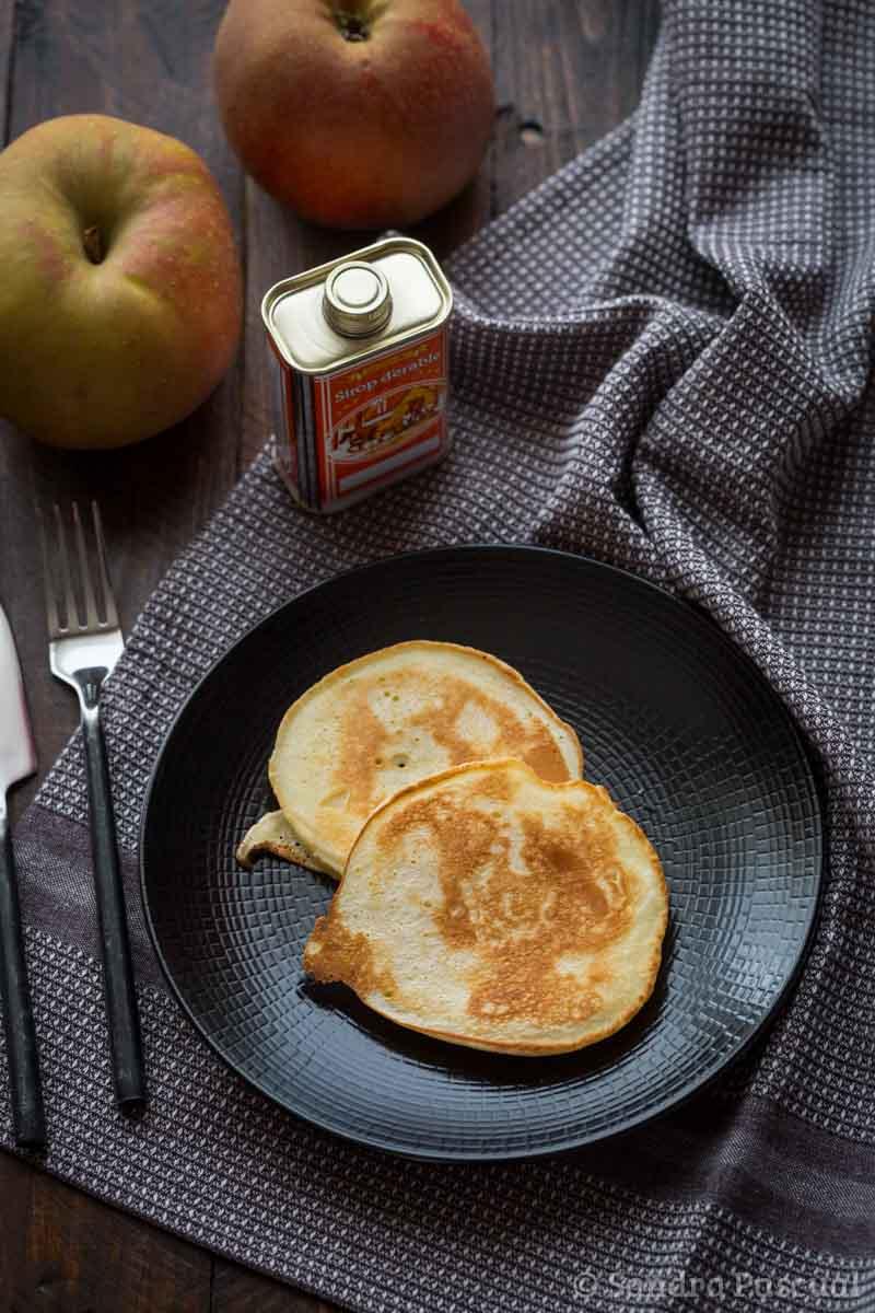 Apfelkiechle, crêpes aux pommes