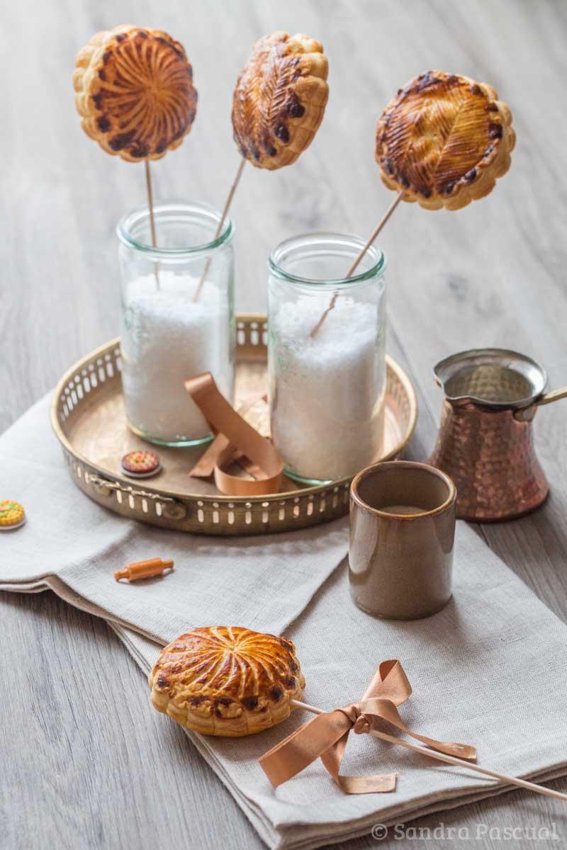 Galette pops Poire et chocolat