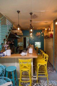 Restaurant de street food à Jérusalem