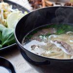 Phô Bô {Soupe vietnamienne au Boeuf et Nouilles de Riz}