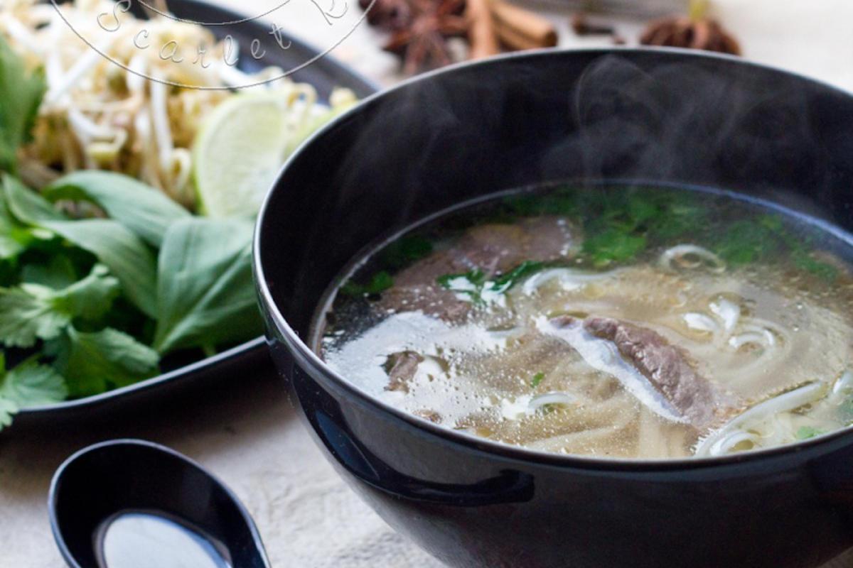ph b soupe vietnamienne au boeuf et nouilles de riz cuisine addict. Black Bedroom Furniture Sets. Home Design Ideas