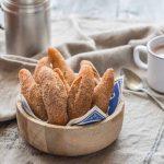 Schenkele, Beignets à la poudre</br>d'amande alsaciens