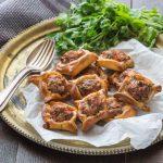 Fatayer, petits chaussons à la viande libanais