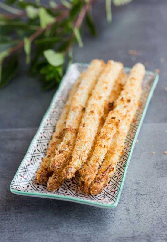 Frites d'asperge