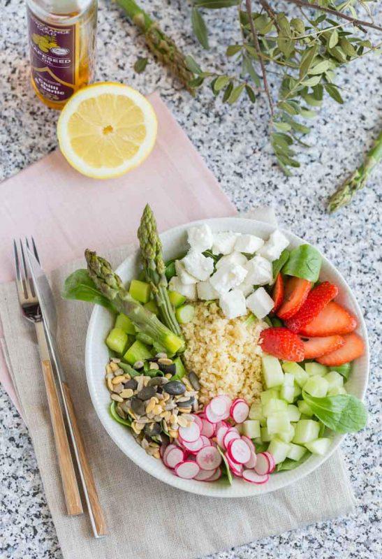 Assiette complète veggie