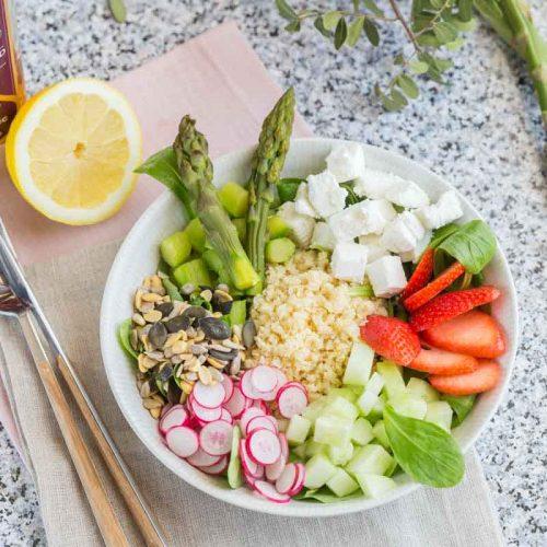 Recette d'assiette veggie