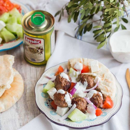 Recette de boulettes d'agneau à la grecque