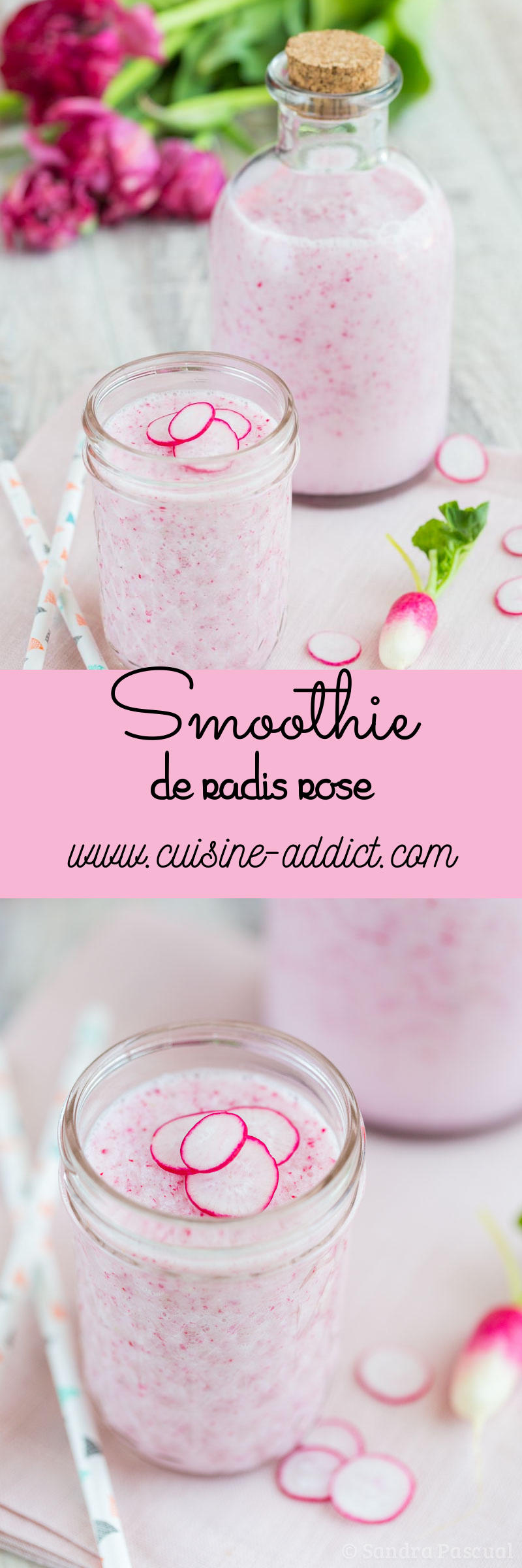 Smoothie de Radis rose