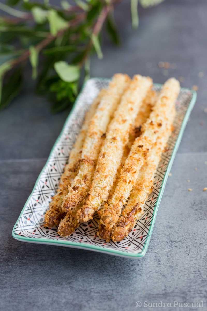 Frites d'asperges