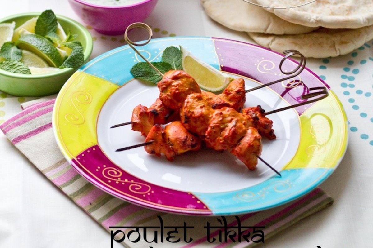 Poulet Tikka & Raïta Menthe/Concombre