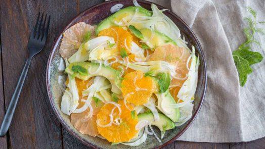 Salade de fenouil aux agrumes