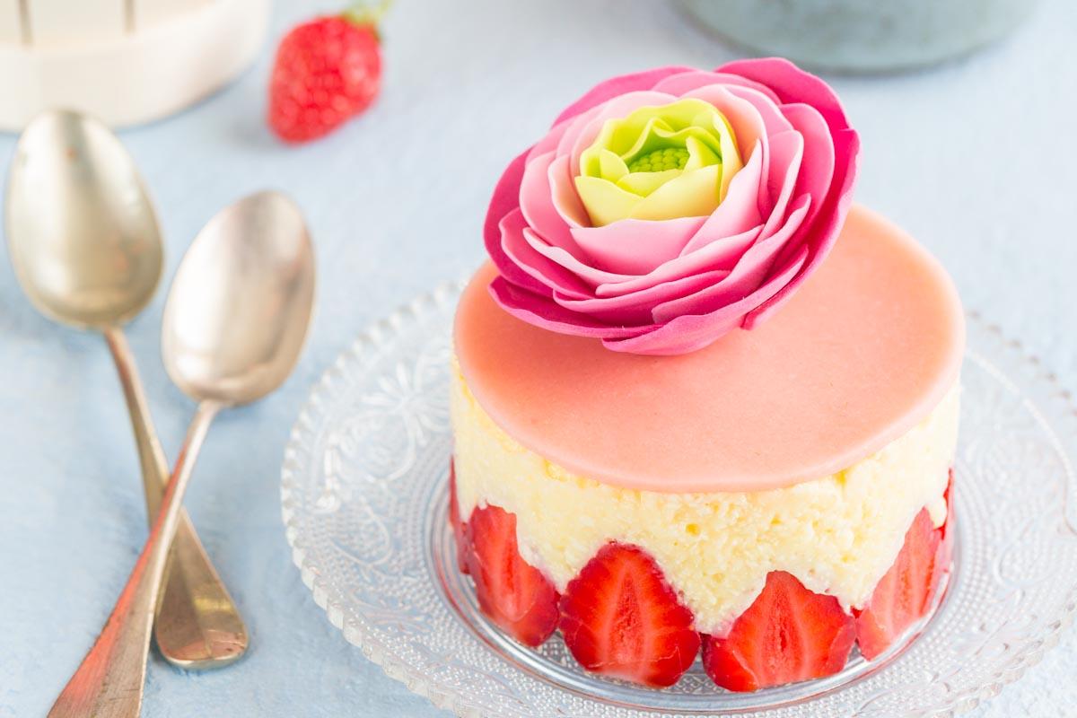 Recette de fraisier