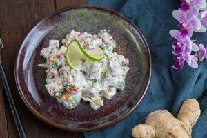Recette de poisson à la tahitienne