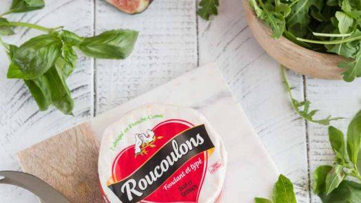 Recette avec le fromage Roucoulons