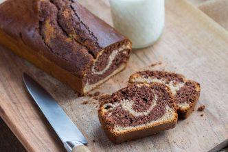 Recette de Cake marbré sans gluten