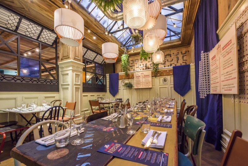 Pop Up Bierstub Fischer, Le Restaurant éphémère Dédié à La Bière Su0027installe  à La Hache