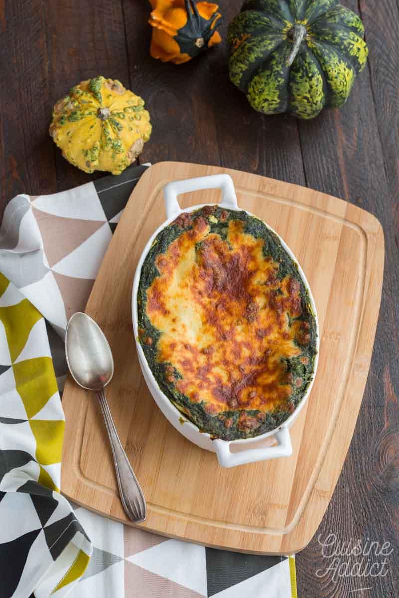 Lasagnes végétariennes aux légumes