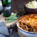 Tourte au bœuf, champignons et à la Licorne Black {Beef & Black Pie}
