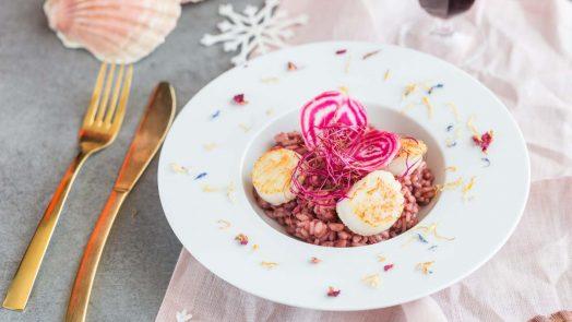 Recette de risotto à la betterave