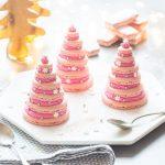 Sapins de Macarons à la Framboise
