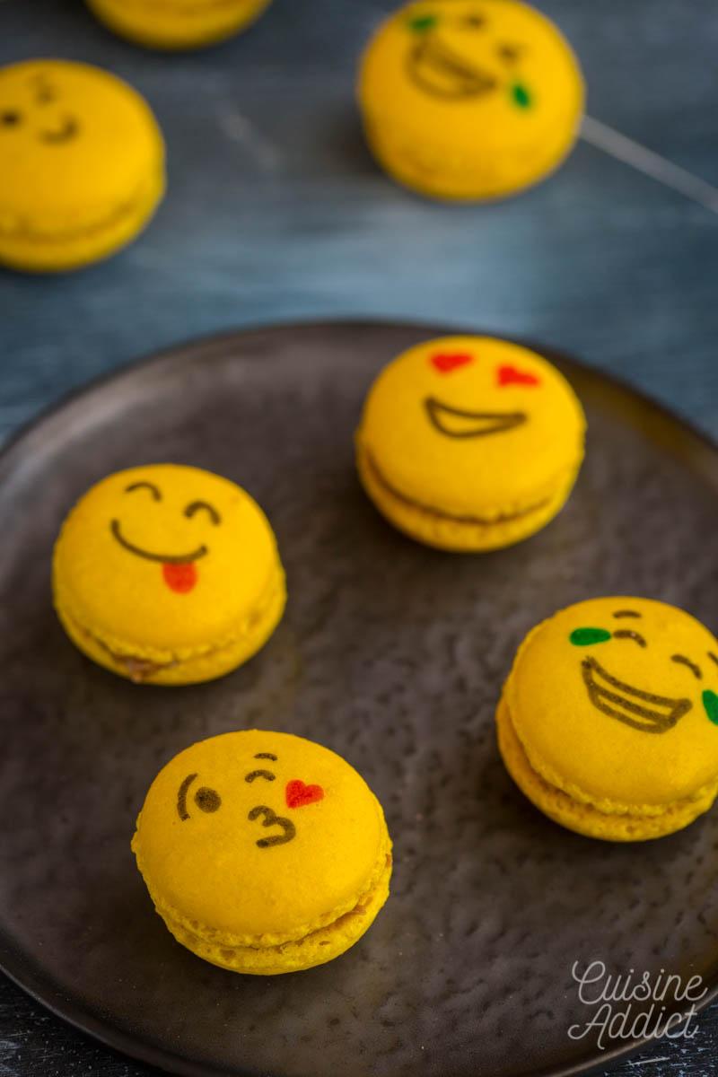 Macarons à la pâte de spéculoos